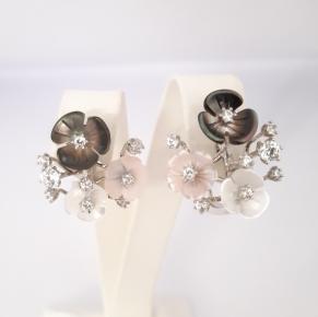 Дамски сребърни обеци-65
