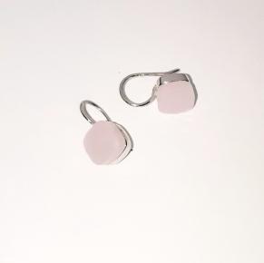 Дамски сребърни обеци-91