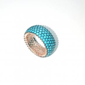 Дамски сребърен пръстен-2