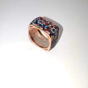 Дамски сребърен пръстен-1