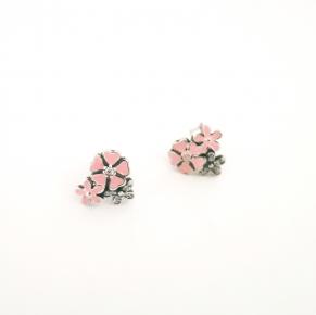 Дамски сребърни обеци-21