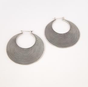 Дамски сребърни обеци-103