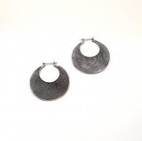 Дамски сребърни обеци-104