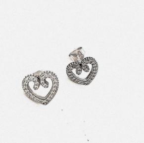 Дамски сребърни обеци-105