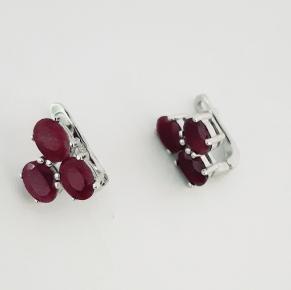 Дамски сребърни обеци-111
