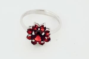 Дамски сребърен пръстен 7