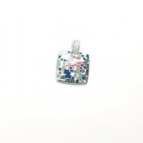 Дамски сребърен медальон 31