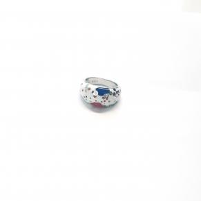 Дамски сребърен пръстен  12