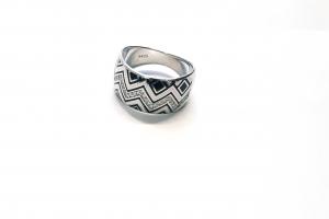 Дамски сребърен пръстен 13