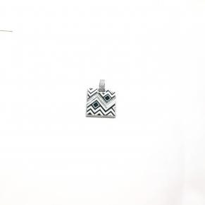 Дамски сребърен медальон 32