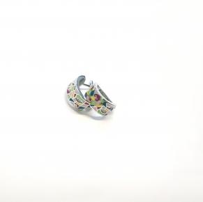 Дамски сребърни обеци -132
