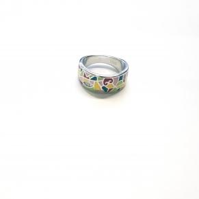 Дамски сребърен пръстен 14