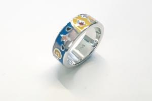 Дамски сребърен пръстен-10