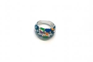 Дамски сребърен пръстен  15