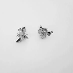 Дамски сребърни обеци 135