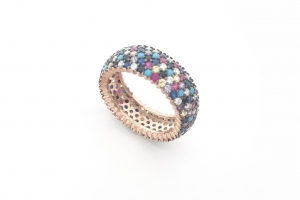 Дамски сребърен пръстен 16