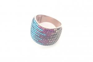 Дамски сребърен пръстен 19