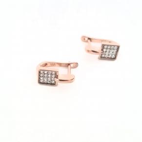 Дамски сребърни обеци -152