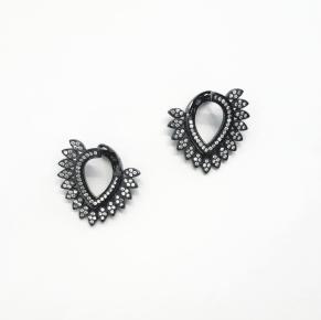 Дамски сребърни обеци -155