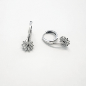 Дамски сребърни обеци -156