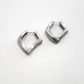 Дамски сребърни обеци -159
