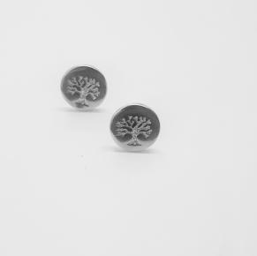 Дамски сребърни обеци -164