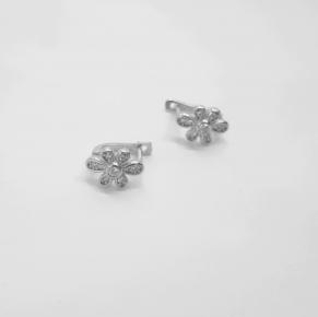 Дамски сребърни обеци -172