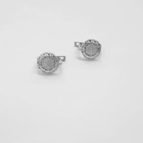 Дамски сребърни обеци -176