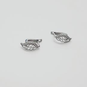 Дамски сребърни обеци -170