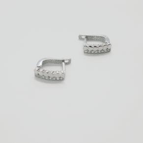 Дамски сребърни обеци -171