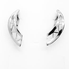 Дамски сребърни обеци -174