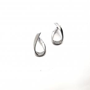 Дамски сребърни обеци -190