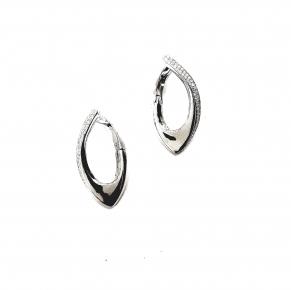 Дамски сребърни обеци -191