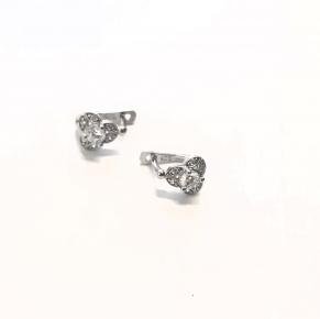 Дамски сребърни обеци -194