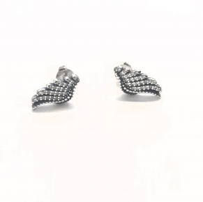 Дамски сребърни обеци -200