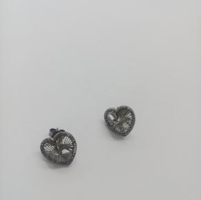 Дамски сребърни обеци-39