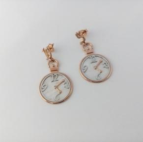 Дамски сребърни обеци-13